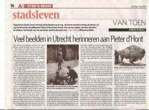 artikel in AD 17 april 2010